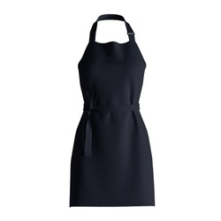 A blank Fresh Apron Mockup In Dark Sapphire Color, to shows your designs as a graphic design professional.