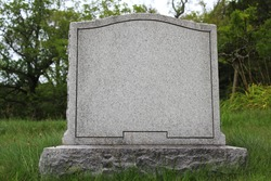 A Blank Gravestone