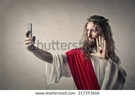 A blasphemous Christ