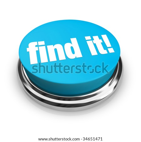 A blue button with the words Find It on it