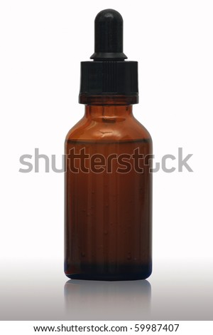 A bottle for medicine or cosmetic