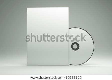 a box with cd disk