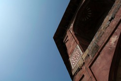 A Building in Purana Quila