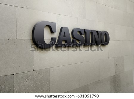 A building signage for 'Casino'.