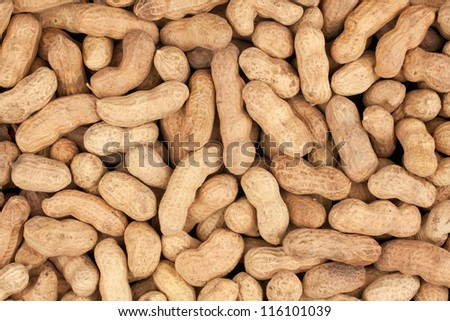 a bunch of peanuts can be used as background