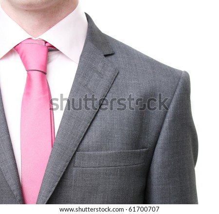 A business man in a suit