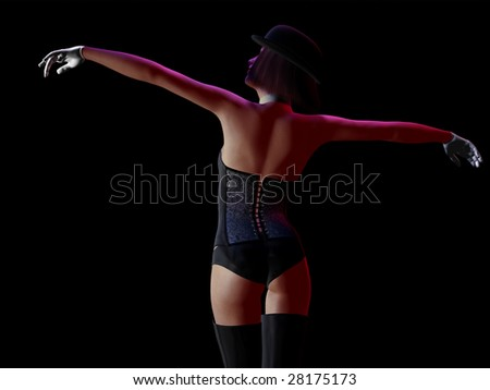 Girl Holding Her Arms Out