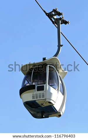 A cable car - stock photo