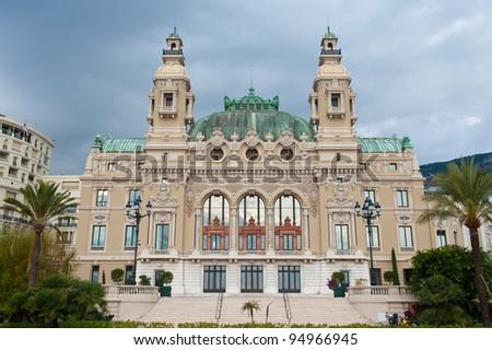 A casino in Monte Carlo, Monaco