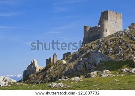 A Castle in the sky - The Lady Hawk Castle, Rocca Calascio - Aquila - Italy