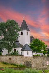 A catholic church in Koblenz Germany
