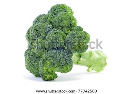 a cauliflower on a white background