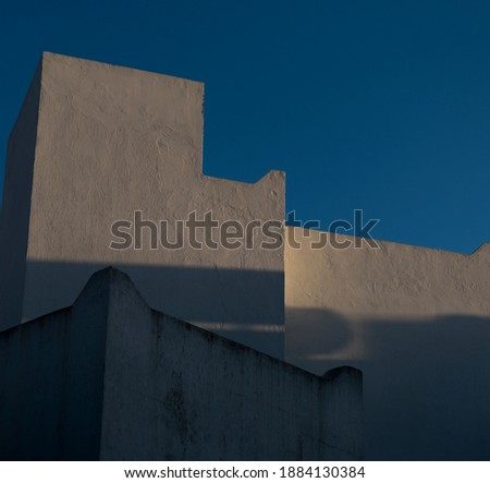 A cement summer house V Photo stock ©