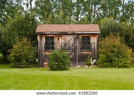 Rustic Garden Sheds