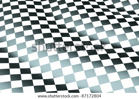 a chessboard wave background