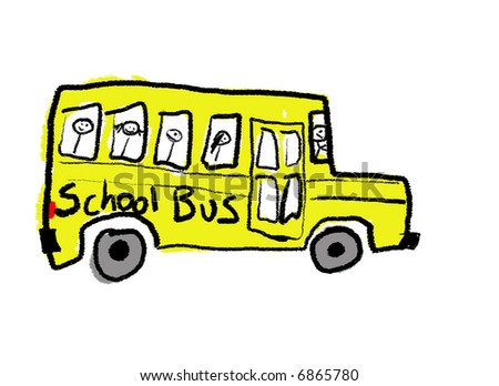 School Bus Drawing Drawing of a School Bus
