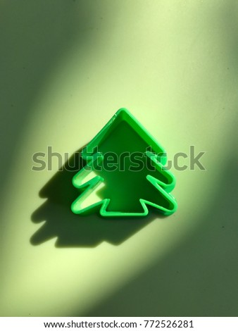 A Christmas tree model: Save the trees #772526281