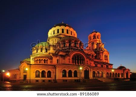 a Church in Sofia, Bulgaria