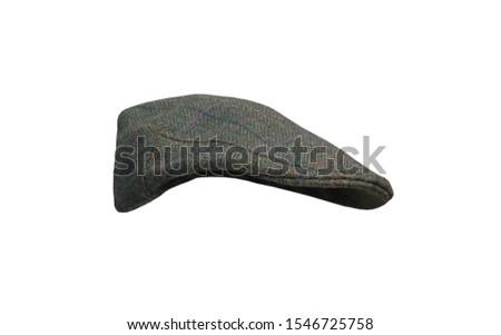 A Classic Material Made Gentlemans Flat Cap.