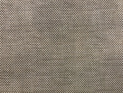 A close-up and macro photo a grey woven fabric that is visible to the details of the beautiful structure of the yarn which is suitable to be used as a background or wallpaper.