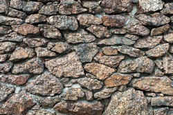 A close up of a rock wall