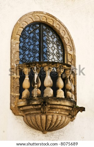 a close up of a window in Mexico #8075689