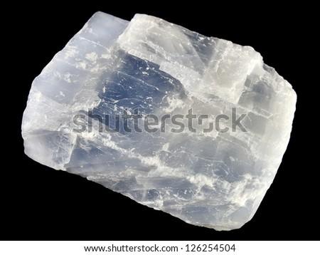 A close-up of blue calcite #126254504