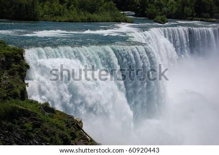 A Close Up of Niagara Falls (The American Falls)