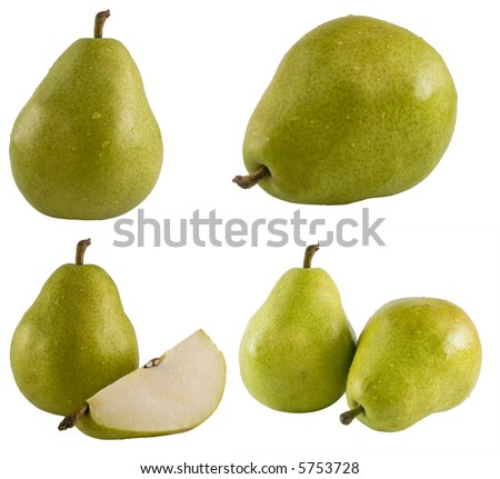 A close up on a series of fresh pears. The full resolution photo of each can be found in my portfolio.