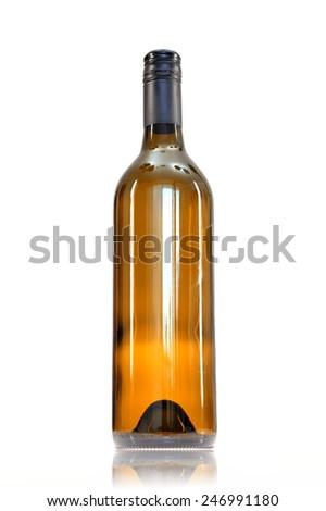 A close up shot of a wine bottle #246991180