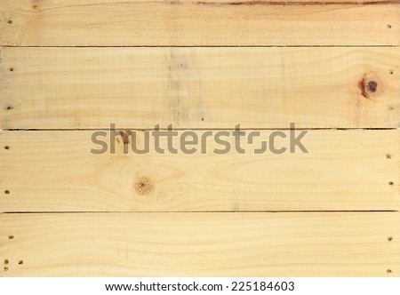 A close up shot of a wooden crate #225184603