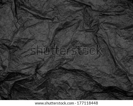 A close up shot of crepe paper