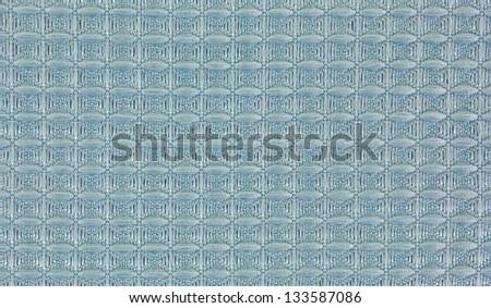 A close view of a microfiber dish cloth.