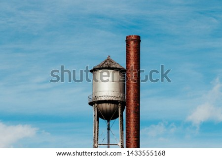 Tall Water Storage Tanks