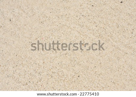 A closeup of sand to be used as a texture or backdrop