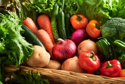 A collection of fresh and delicious vegetables