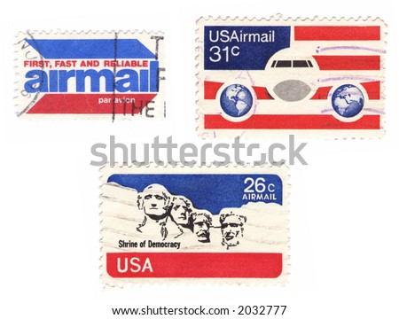 a collection of vintage us...