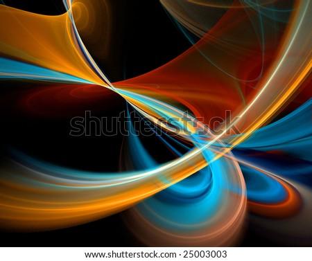 wallpaper fractal. colored wallpaper fractal