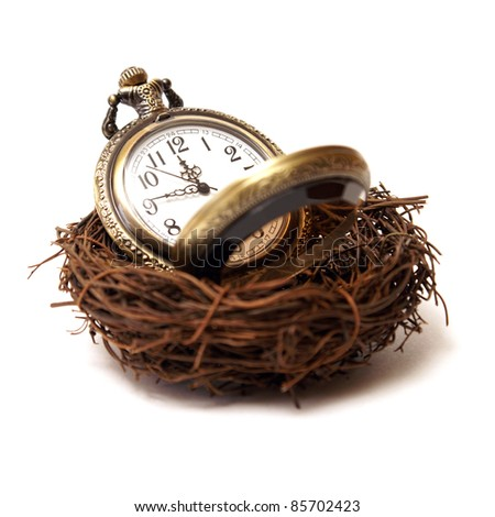 A concept of nurturing time as a valuable asset.