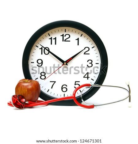 A concept related to many areas of timing in the medical field. - stock photo