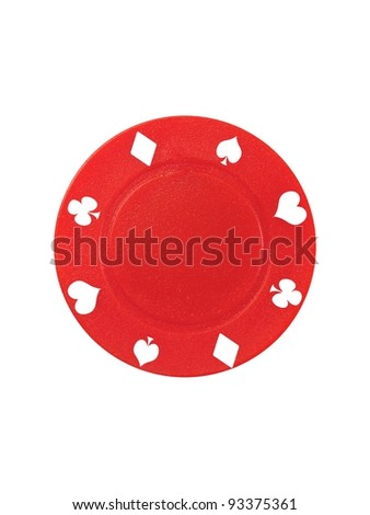 A conceptual gambling image with assorted gambling equipment