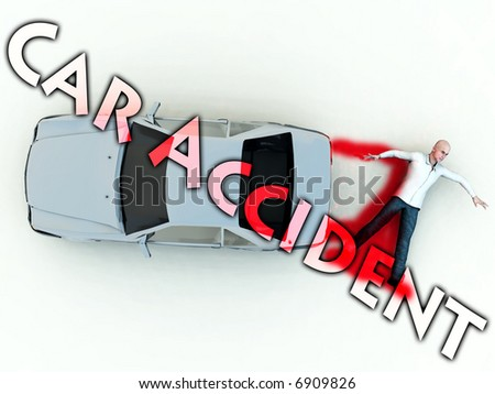 A conceptual image warning people not to speed, as it could cause a possible road death. - Shutterstock ID 6909826