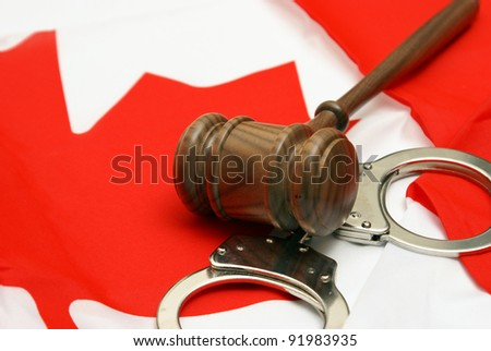 A conceptual images related to the theme of Canadian Jurisdiction.