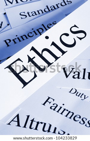 A conceptual look at ethics and related subjects.