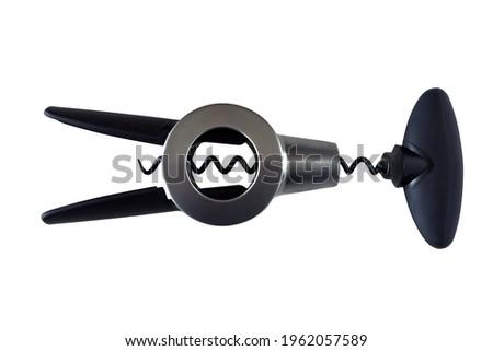A corkscrew flat lay isolated Сток-фото ©