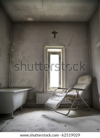 A creepy room, waiting for someone to step in and say their last prairs