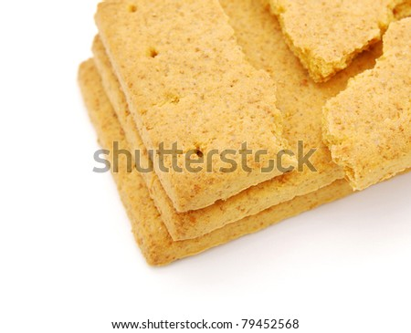 A crispy grain crackers