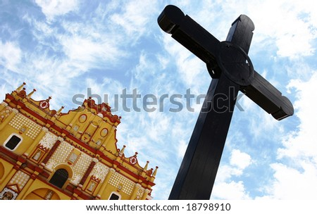A Cross in Mexico