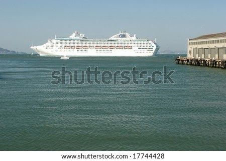 A cruise ship or cruise liner is a passenger ship used for pleasure voyages, where the voyage itself and the ship's amenities are part of the experience.