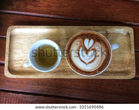 A cup of coffee #1015690486